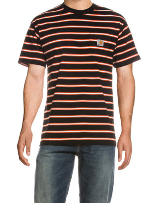Carhartt T-Shirt, Rundhals, Gerader Schnitt bunt