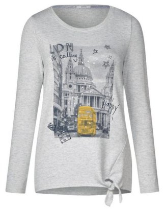 Cecil Print-Shirt Feinstrick