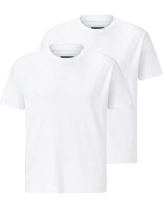 "Charles Colby T-Shirt ""EARL MARVIN"" (2er-Pack) aus reiner Baumwolle"