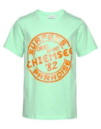 Chiemsee T-Shirt mit coolem Druck vorn