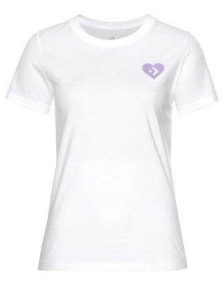 "Converse T-Shirt ""LOVE THE PROGRESS TIE BACK TEE"""