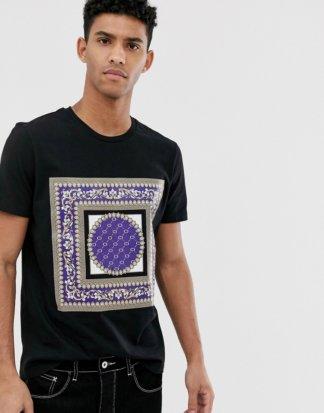 Criminal Damage - Schwarzes T-Shirt mit Aufdruck