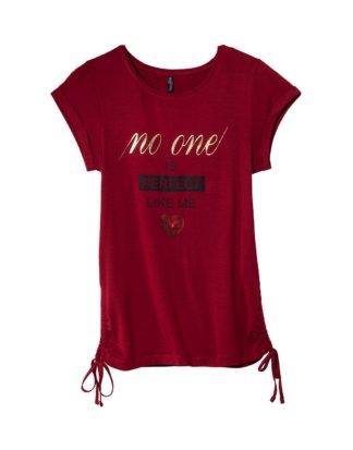 Damen-T-Shirt mit Pailletten-Herz