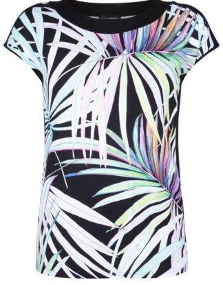 """Doris Streich T-Shirt """"mit floralem Print"""" Rundhalsausschnitt"""