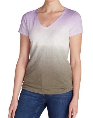Eddie Bauer T-Shirt Gypsum T-Shirt - Dip-Dye