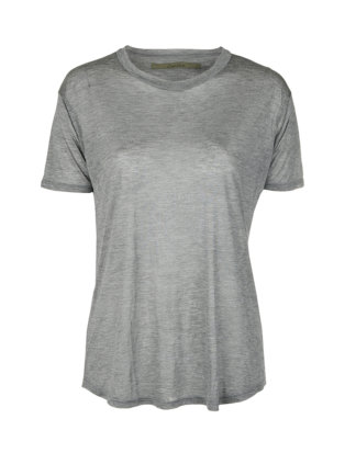 Enza Costa T-Shirt grau