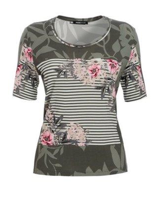 """FRANK WALDER T-Shirt """"Capetown"""" mit exklusivem Blütendruck"""