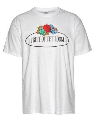 Fruit of the Loom T-Shirt mit großem Logo-Print