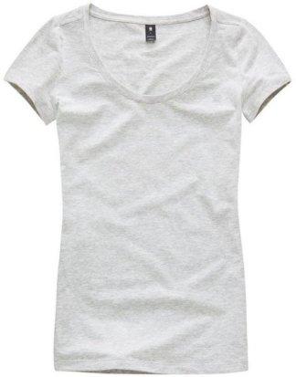 """G-Star RAW T-Shirt """"Base r t wmn cap sl"""" mit kleinen Logo-Frontdruck"""