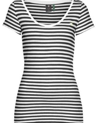 """G-Star RAW T-Shirt """"Base stripe slim r t wmn cap sl"""" im Streifen-Design"""
