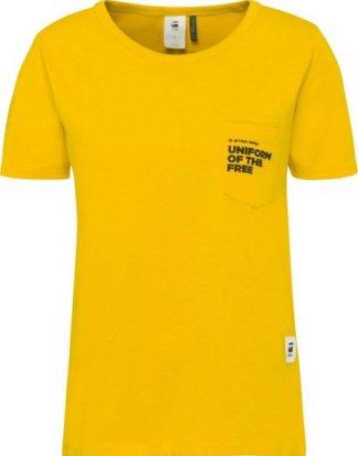 """G-Star RAW T-Shirt """"Graphic 1 pocket"""" mit Brusttasche"""