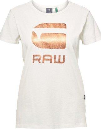 """G-Star RAW T-Shirt """"Graphic 21 Top"""" mit Folien G-Star RAW Grafik vorne"""