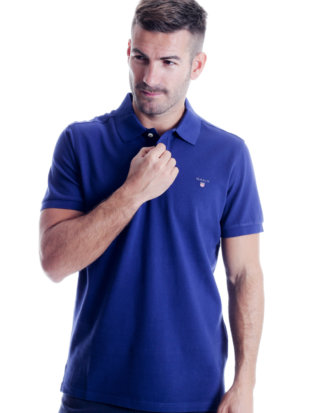 Gant Polo-Shirt, Regular Fit blau