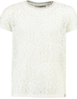 Garcia T-Shirt aus Spitze