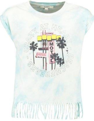 Garcia T-Shirt mit Fransen