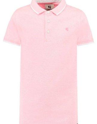Garcia T-Shirt mit Streifendetail an Ärmeln und Kragen