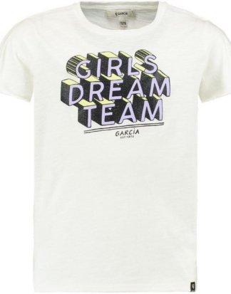 Garcia T-Shirt mit Textprint