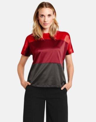 Gerry Weber Shirt mit Colourblocking Schwarz 36/S Damen