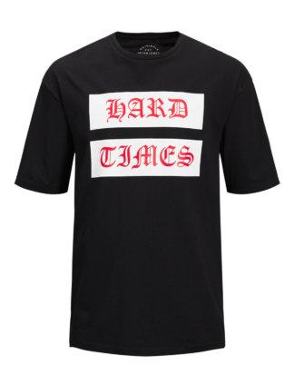 JACK & JONES Box Fit T-shirt Herren Schwarz