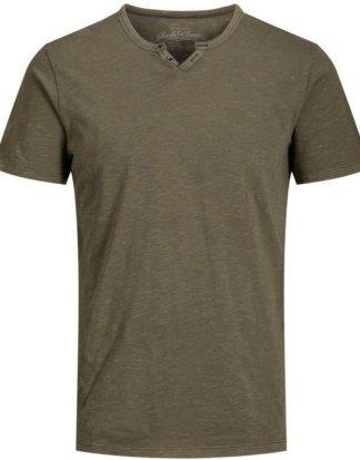 """Jack & Jones V-Shirt """"Split V Neck Shirt"""" bis Größe 6XL"""