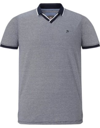 "Jan Vanderstorm T-Shirt ""KRISTOPHER"" feines Streifendesign"