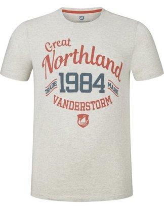 "Jan Vanderstorm T-Shirt ""PIET"" mit Print in Vintage-Design"