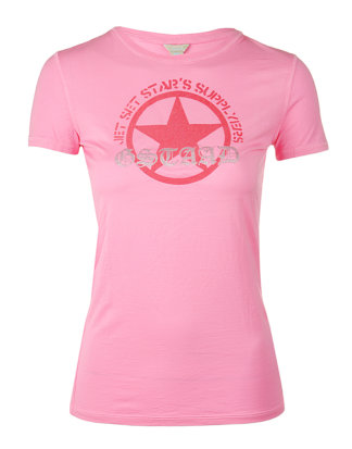 Jet Set Damen T-Shirt DANIA pink