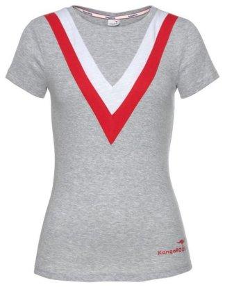 KangaROOS T-Shirt mit modischem Muster