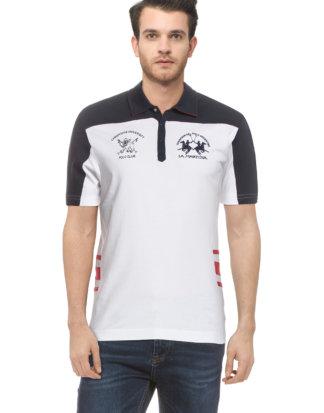 LA Martina Polo-Shirt, Slim Fit weiß