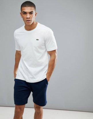 Lacoste - Logo-T-Shirt in Weiß