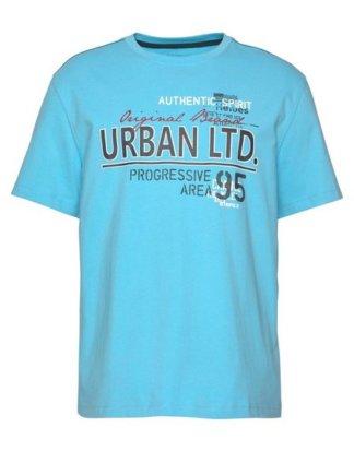 Man's World T-Shirt Mit mehrfarbigem Print