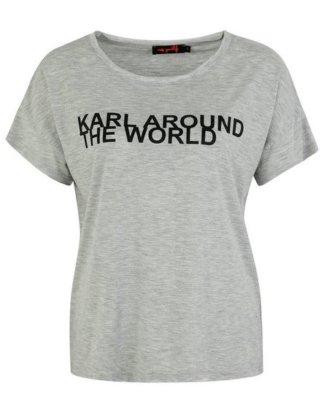 """Miss Goodlife T-Shirt """"KARL"""" mit Print"""