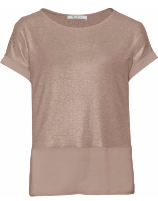 Monari Shirt Lackdruck beige