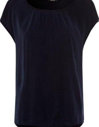 """OPUS T-Shirt """"Sertella"""" mit femininer Raffung am Rundhals"""