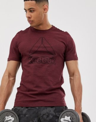 Reebok - Training - Klassisches T-Shirt in Rot