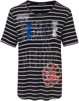 Rundhals-Shirt Betty Barclay schwarz Größe: 36