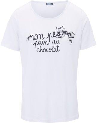 Rundhals-Shirt MYBC weiss Größe: 42