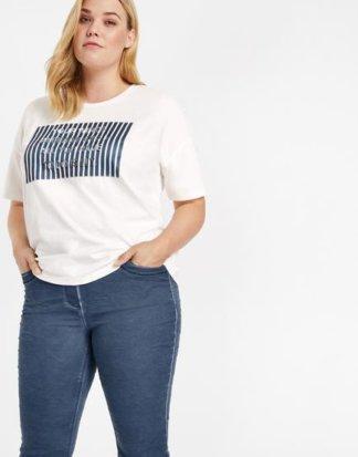 Shirt mit Präge-Motiv 44/L