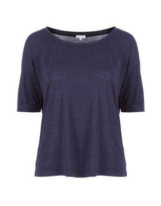Splendid Oversized T-Shirt blau