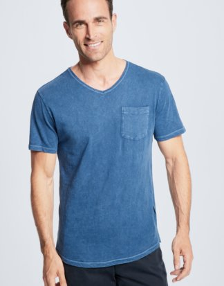 T-Shirt Connor, blau