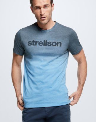 T-Shirt Connor, mittelblau