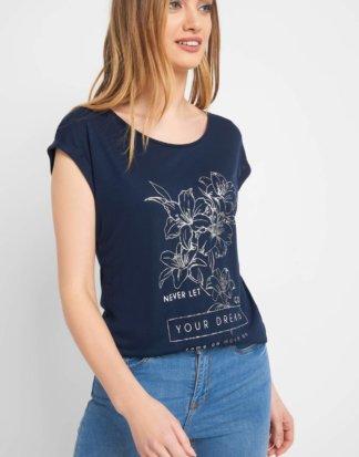 T-Shirt mit Statement