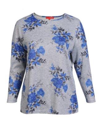 THEA T-Shirt mit Blumendruck