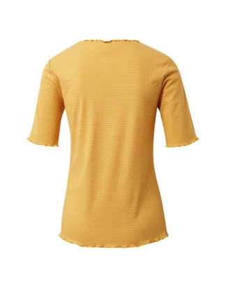 "TOM TAILOR Denim T-Shirt ""Gestreiftes T-Shirt in Ripp-Optik"""