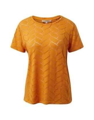 """TOM TAILOR Denim T-Shirt """"T-Shirt aus Lochspitze"""""""