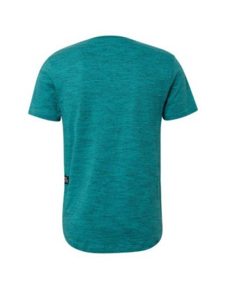 "TOM TAILOR Denim T-Shirt ""T-Shirt im Mélange-Look"""