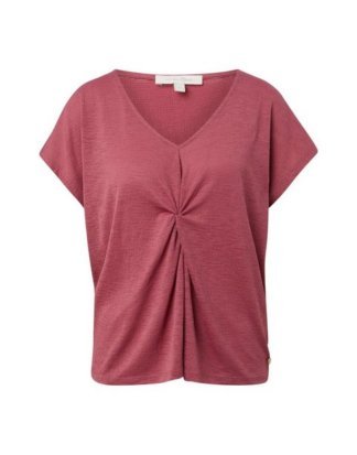 "TOM TAILOR Denim T-Shirt ""T-Shirt mit Knoten-Detail"""