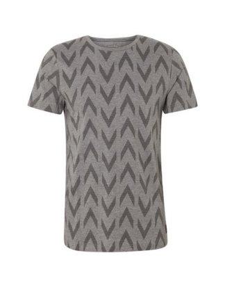 """TOM TAILOR Denim T-Shirt """"T-Shirt mit grafischem Allover-Print"""""""