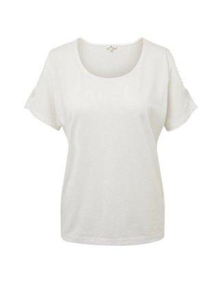 "TOM TAILOR Kurzarmshirt ""Cold-Shoulder T-Shirt"""