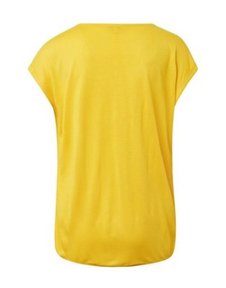 """TOM TAILOR T-Shirt """"Jersey T-Shirt aus Materialmix"""""""